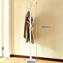 Garderobe Massivholz Kleiderbügel Kleiderbügel Einfache Schlafzimmer Wohnzimmer Moderne Minimalistische Kleiderständer ( Farbe : S )