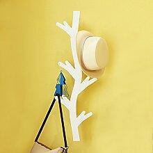 Garderobe Massivholz Wand Hängende Aufhänger Baum Form Aufhänger Multifunktions Schlafzimmer Kleiderständer ( größe : 2# )