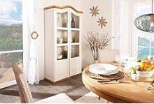 Garderobe Massivholz weiß - Landhausstil - Mexico