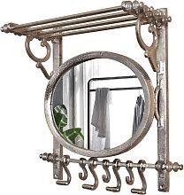 Garderobe MEY Spiegel Alu Antik Design