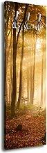Garderobe mit Design Forrest G428 40x125cm Wandgarderobe Wald Natur Baum