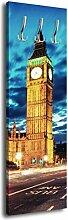 Garderobe mit Design London Houses of Parliament G158 40x125cm Wandgarderobe Großbritanien City England