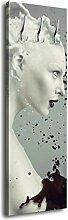 Garderobe mit Design Milky Dream G214 40x125cm Wandgarderobe Schwarz Weiß Frauen Kaffee