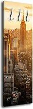 Garderobe mit Design New York G329 40x125cm Wandgarderobe Big Apple ManhaGan Amerika