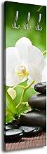 Garderobe mit Design Relax G416 40x125cm Wandgarderobe Orchidee Asia Entspannung