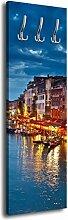 Garderobe mit Design Restaurants Canale Grande G162 40x125cm Wandgarderobe Wasser Italien Venedig