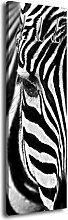 Garderobe mit Design Zebra G406 40x125cm Wandgarderobe Afrika Savanne Steppe