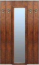 Garderobe mit Spiegel Breite 114 cm