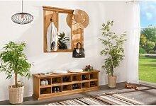 Garderobe mit Spiegel, original Mexico Möbel,