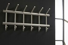 Garderobe Modern Industrielook Coole Lampen Grob Stahlgrau Metall