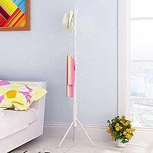 Garderobe Standkleiderständer Baum Massivholz