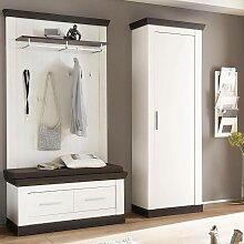 Garderoben-Kombi im Landhaus Stil SALARA-61 Pinie