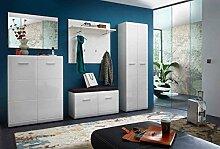Garderoben-Set. Garderobe, Flur-Garderobe, Diele,