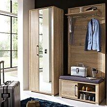 Garderoben Set GOCH-36 Dielenschrank mit Spiegel