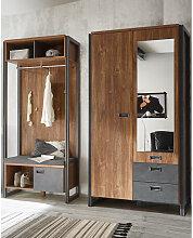 Garderoben-Set im Industrial-Design DALLAS-61
