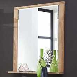 Garderoben-Spiegel mit Wildeiche Nb. Rahmen