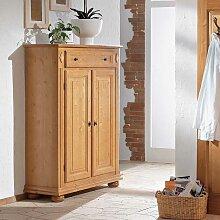 Garderoben Vertiko aus Fichte Massivholz