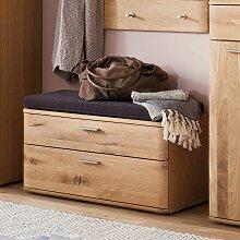 garderobenbank eiche g nstig online kaufen lionshome. Black Bedroom Furniture Sets. Home Design Ideas