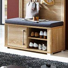 Garderobenbank mit Schuhablage 90 cm breit