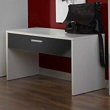 Garderobenbank Torino Farbe: weiß / schwarz