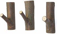 Garderobenhaken aus Natürliche Holz Haken