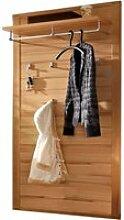 Garderobenpaneel mit Ablage und Kleiderstange,