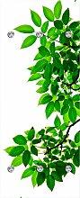 Garderobenpaneel Zweige mit Blättern (B/H):