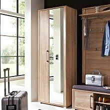Garderobenschrank in Sonoma Eiche mit Spiegel