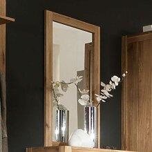 Garderobenspiegel aus Wildeiche Massivholz 100 cm