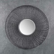 Garderobenspiegel mit Metallrahmen rund