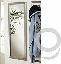 Garderobenspiegel Wandspiegel Edelstahlrahmen ma
