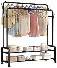 Garderobenständer, freistehender Kleiderbügel,