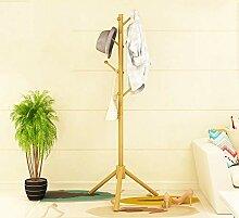 Garderobenständer Standgarderobe Baum Massivholz