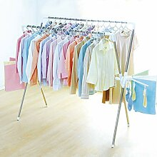 Garderobenständer, zusammenklappbarer