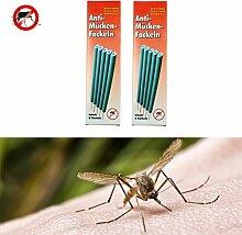 Gardigo Anti-Mücken-Fackeln 10er Set, Mückenschutz, Insektenschutz, Mückenabwehr, Insektenabwehr Räucherstäbchen