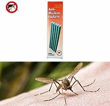 Gardigo Anti-Mücken-Fackeln 5er Set, Mückenschutz, Insektenschutz