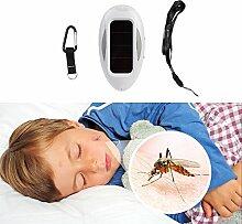 Gardigo Solar Insektenvertreiber, Mückenbertreiber, Insektenschutz, Mückenschutz, Ultraschall