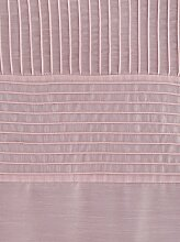 Gardine 145 cm, Schlaufen, 130 cm rosa Gardinen