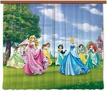 Gardine Cesar (1 Stück), halbtransparent Disney