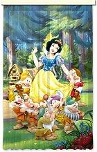 Gardine Charlie (1 Stück), halbtransparent Disney