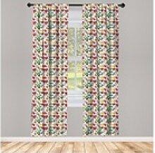 Gardine Fensterbehandlungen für Wohnzimmer