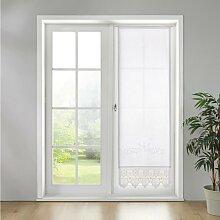 Gardine in Weiß ca. 60x180 cm 'Margret'