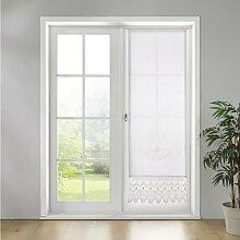 Gardine in Weiß ca. 60x180 cm 'Vanessa'