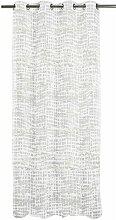 Gardine mit Ösen (1 Stück), transparent Apelt