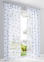 Gardine Sterne (1er-Pack), weiß (H/B: 225/144 cm)