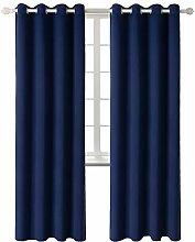 Gardine Vorhang blickdicht Verdunkelung mit Ösen