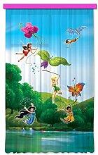 Gardine/Vorhang FCC L 4103 Kinderzimmer Disney Fairies