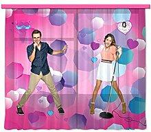 Gardine/Vorhang FCC xl 6304 Kinderzimmer Disney Violetta