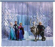 Gardine/Vorhang FCC xxl 4007 Kinderzimmer Disney Frozen