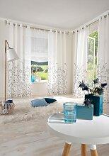 Gardine, Yalinga, my home, Ösen 1 Stück 1, H/B: